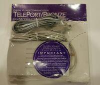 Global Village Teleport Bronze External Modem for Mac - new old stock!