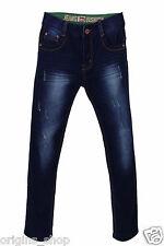 Jeans Enfant Garçon Bleu BRUT - Taille 4 à 16 ans