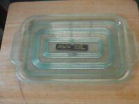 Vintage Green Lustro-Ware Plastic Serving Tray Columbus, Ohio