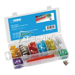 Kit Assortment Terminals For Cables 200pz Fervi 0293 IN Oraganizer Of - Plastic