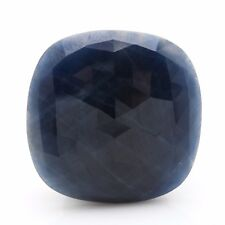 GIA Certified Natural Blue Sapphire 35.88 Carats Untreated Unheated Cushion Cut