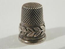 Dé a coudre en argent Ancien, de petite taille /silver thimble/ fingerhut