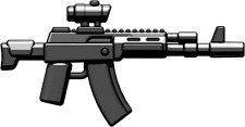 Brickarms AK-12 Assault Rifle for Lego Minifigures (5 Pack) Black