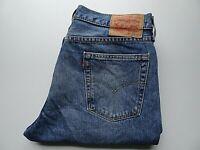 "LEVIS 514 Mens Jeans Slim Straight Leg Blue Denim SIZE W34 L32 Waist 34"" Leg 32"""