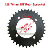 428 76mm 35T Rear Sprocket For Chinese 50cc-160cc 170 190cc CRF50 Pit Dirt Bike