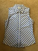 Pre-owned Tommy Hilfiger Womens Sleeveless Shirt Size 6