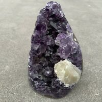 Amethyst Druze Crystal Cluster With Cut Base ~ Exact Specimen (ACB_7)