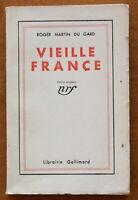 EO num. - Roger Martin du Gard - Vieille France - 1933