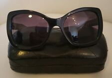 Chanel Black Gold Grey 5305 Square Chain Link Quilted Cc Logo Sunglasses