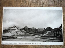 Sagamore and Samoset Roads Sagamore Beach Ma 1919