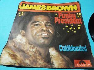 James Brown - Funky President, 7inch, Single, Beschreibung lesen