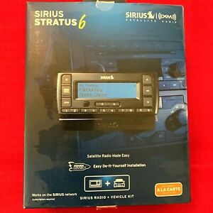 Sirius XM Stratus 6 Satellite Radio & Vehicle Kit SDSV6V1 *Brand New - Open Box*