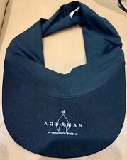 Aquaman (2018) Movie Theatrical Promo swag Baseball Hat Cap Visor *New*
