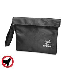 FIREDOG Smell Proof Bag Pouch Hook Loop Discreet Travel Smoker Stash Case UK