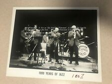 Barry Martyn's Legends Of Jazz 1000 Years Original Promotional Photograph
