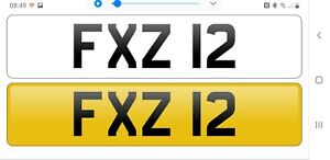 Dateless cherished number plate