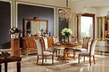 Round Dining Room +4 Chairs Chair Set Set round Table Wood Tables round E62