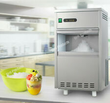 Countertop Flake Ice Maker Machine Commercial Home Auto Making Snow Machine 44Lb