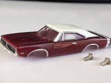 New Thunderjet 1969 Charger Tjet HO Slot Car Body Fit Aurora & Dash Chassis