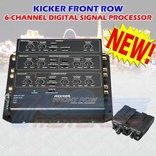 KICKER ZXDSP1 CAR AUDIO FRONT ROW 6CH DIGITAL SIGNAL PROCESSOR DSP 12ZXDSP1