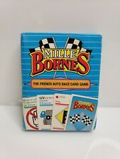 Hasbro Parker Brothers Mille Bornes The French Auto Race Card Game Complete 1992