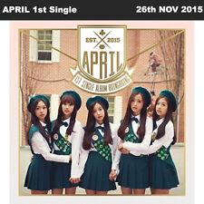 APRIL BOING BOING 1st Single Album CD+Photo Booklet+Photo Card KPOP