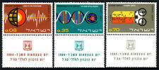 Israel 256-258 tabs, MNH. Israel's Contribution to Science, 1964