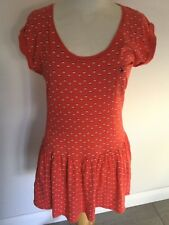 Jack Wills Ladies T-Shirt Style Short Sleeve Dress Size 8. Good Condition.