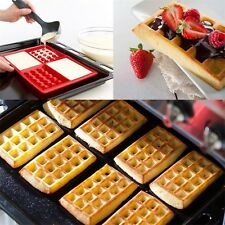 Silicone Waffles Muffins Mold Cake Chocolate Pan Bakeware Kitchen Baking Tool DY