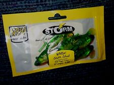 "STORM WildEye Swim Shad 3"" Holographic Fire Tiger 6 Pack Pre Rigged NOS NEW"