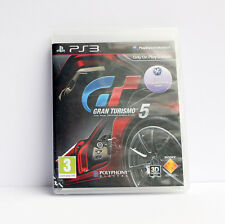 GRAN TURISMO 5 Sony Playstation 3 PS3 Game PAL + Booklet Free Post