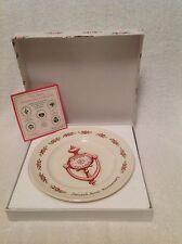 "Avon Collectible Plate 2nd Anniversary""The Avon Doorknocker"""