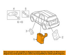 Scion TOYOTA OEM 08-14 xD Tire Pressuring Monitoring-Control Module 8976952010