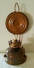 Vintage Kerosene Bracket Oil Lamp Hong Kong with Reflector