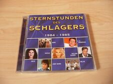 Doppel CD Sternstunden des Schlagers 1984-1985: Wind Nicole Relax Andy Borg Ibo
