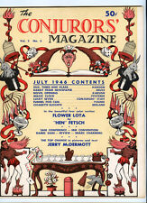 Conjuror'S Magazine Vol.2 July 1946 Devils Breathing Fire on Cover