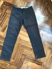 1 X Pair Of Mens Next Navy Chinos