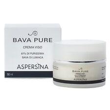 Aspersina - Bava pure crema viso 50 ml - a base di purissima Bava di lumaca