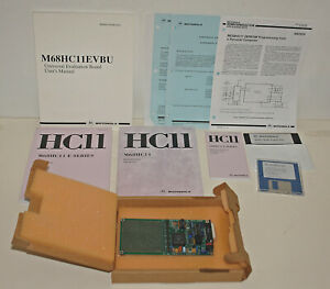 Vintage Motorola M68HC11EVBU Universal Evaluation Board - COMPLETE IN OPEN BOX
