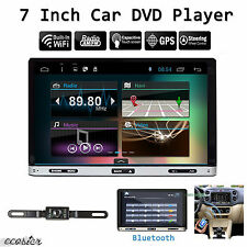 7inch Android 6.0 Double 2Din In Dash Car DVD Radio Stereo Player GPS Wifi 3G BT