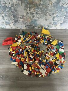 2.8kg Vintage Mixed Lego Unsorted Bundle Lot All Vintage 70/80s