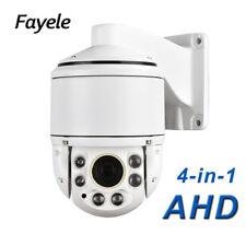 "Security 4"" High Speed Dome PTZ Camera HD 1080P AHD TVI CVI CVBS 30X Zoom IR100M"