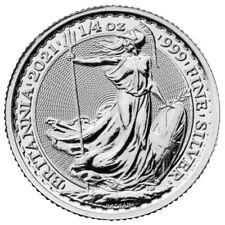GRANDE BRETAGNE 50 Pence Argent 1/4 Once Britannia 2021
