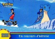 POKEMON Carte TOPPS NEUVE N° OR2 UN COUCOURS D' ADRESSE
