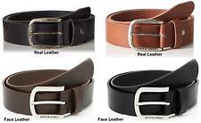 Jack and Jones Paul Leather Belt in Dark Brown