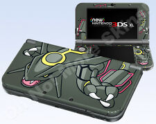 New Nintendo 3DS XL Skin Vinyl Decal Sticker - Pokemon Shiny Rayquaza Emerald 2