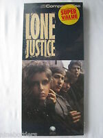 Empty CD longbox, LONE JUSTICE: LONE JUSTICE, long box only, V.G.