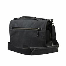 Tenba Cooper 13 Slim DSLR Camera Bag - Luxury Canvas with Leather Accents
