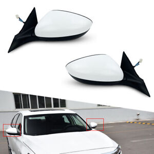 2pcs Rear View Side Mirror Fit for Honda Accord 2018-2020 Power Wing Mirror