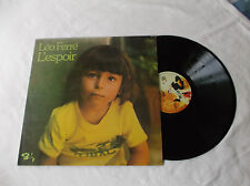 Léo Ferré  L espoir LP Album Canada pressing